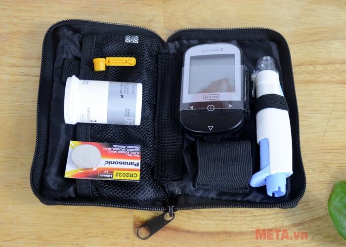 Trọn bộ sản phẩm máy đo đường huyết cá nhân Glucocard 1070 (mg/dL)